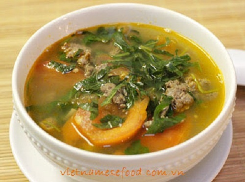 Томатный суп с мясом рецепт с фото